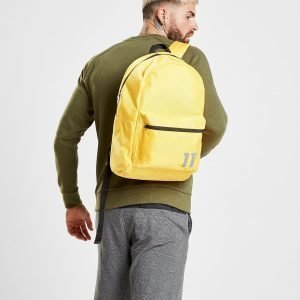 11 Degrees Backpack Reppu Keltainen