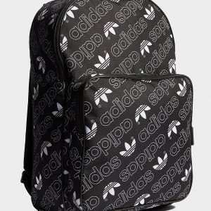 Adidas Originals Classic Repeat Backpack Reppu Musta