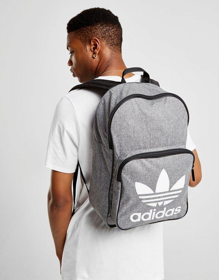 26b3fc28e1 Adidas Originals Classic Trefoil Backpack Reppu Harmaa ...