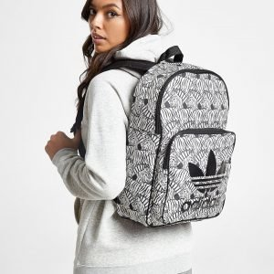 Adidas Originals Classic Zebra Backpack Reppu Musta