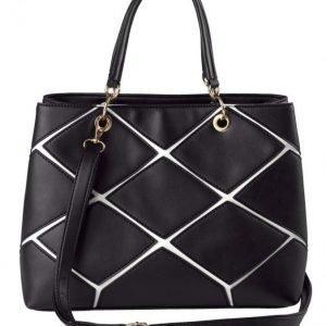 Aimée Käsilaukku Musta / Valkoinen