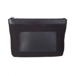 Alexander Wang Black Canvas Pouch Toilettilaukku