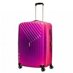 American Tourister Air Force One Spinner M Matkalaukku Roosa