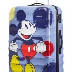 American Tourister Palm Valley Disney Mickey Spinner L Matkalaukku