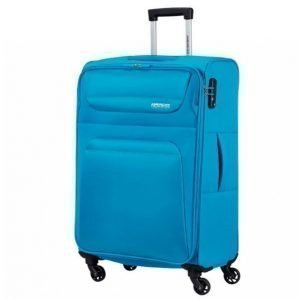 American Tourister Spring Hill Blue Spinner 66 Cm Matkalaukku