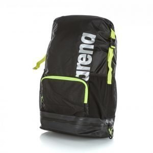 Arena Fast Dry Backpack Reppu Musta / Keltainen