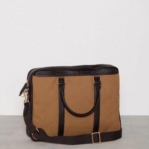 Baron Laptop Bag Tietokonelaukku Khaki