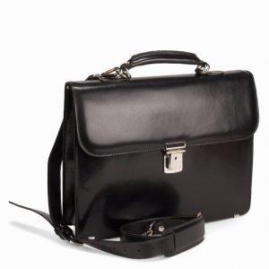 Baron Small Briefcase Tietokonelaukku Musta