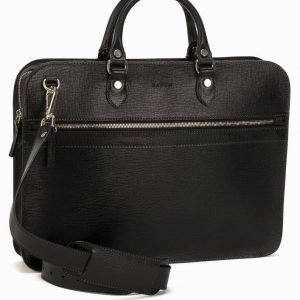 Baron Small Zip Briefcase Salkku Musta