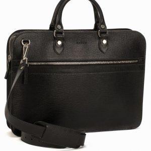 Baron Small Zip Briefcase Salkku Musta