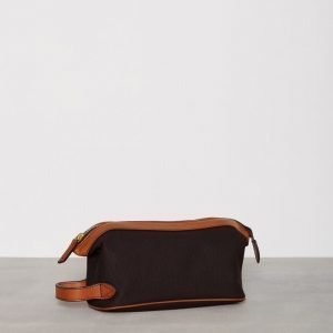 Baron Toilet Bag Canvas Toilettilaukku Brownie