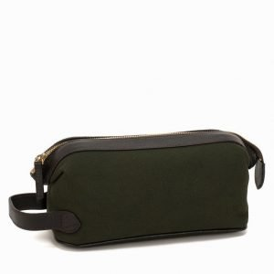 Baron Toilet Bag Canvas Toilettilaukku Green