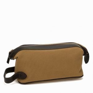 Baron Toilet Bag Canvas Toilettilaukku Khaki