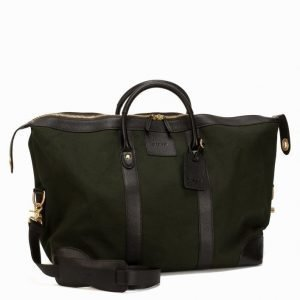 Baron Weekend Bag Canvas Viikonloppulaukku Green