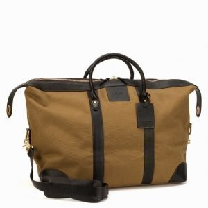 Baron Weekend Bag Canvas Viikonloppulaukku Khaki