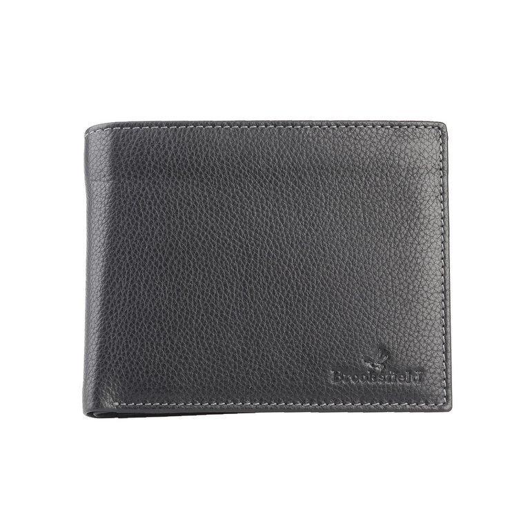 Brooksfield myntfack Svart lompakko