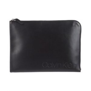 Calvin Klein Burn Document Case Nahkalaukku