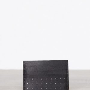 Calvin Klein Calvin Grid Cardholder Korttikotelo Musta