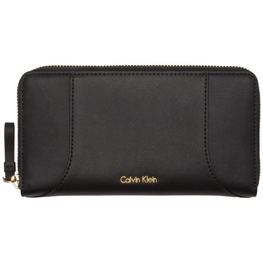 Calvin Klein Calvin Klein Acc C4rolyn Leather L Ziparound Iso Kukkaro