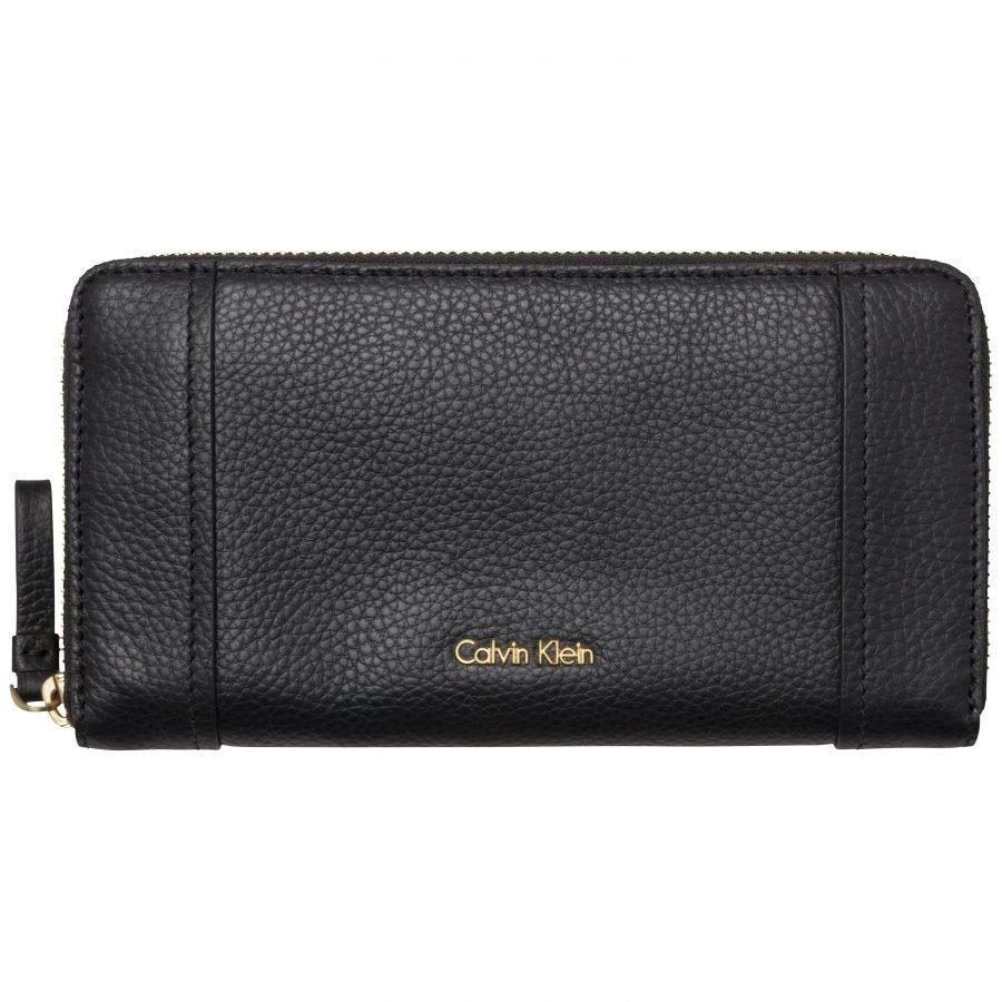 Calvin Klein Calvin Klein Acc K3yla Leather L Ziparound Iso Kukkaro