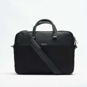 Calvin Klein Calvin Klein Elias Slim Laptop Bag 001 Black