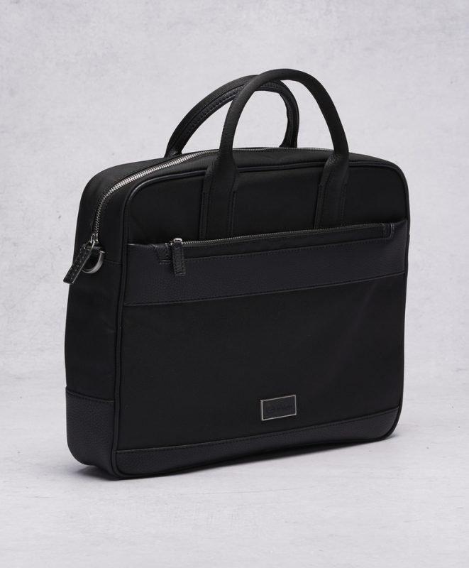 Calvin Klein Calvin Klein Ethan Nylon Laptopbag Black ... 26ab7c7c090fb