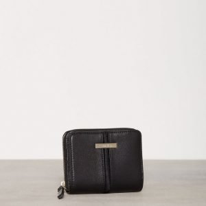 Calvin Klein Dan1 Medium Ziparound Lompakko Musta