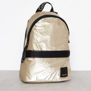 Calvin Klein Fluid Backpack Metalic Reppu Kulta