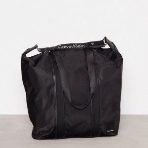Calvin Klein Fluid Large Shopper Käsilaukku Musta