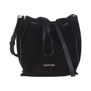 Calvin Klein Keyla Suede Bucket Nahkalaukku