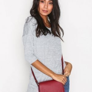 Calvin Klein Metropolitan Saddle Bag Olkalaukku Punainen / Vaaleanpunainen