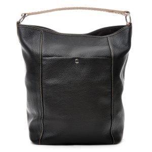 Ceannis Bucket Bag Laukku Nahka / Musta