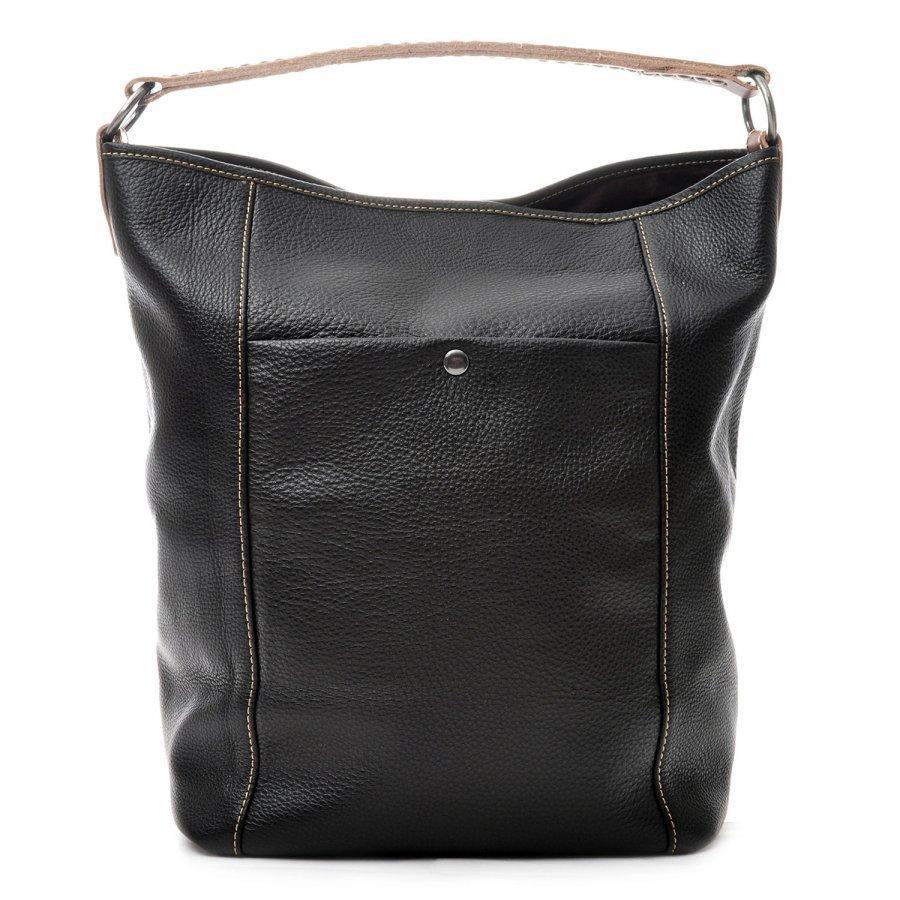 Laukkukauppa24 Bucket Musta Bag Laukku Ceannis fi Nahka IeE92bDHWY