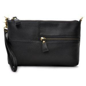 Ceannis Envelope Bag Laukku Nahka / Musta