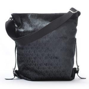 Ceannis Leaf Shoulder Bag Olkalaukku Tummanharmaa
