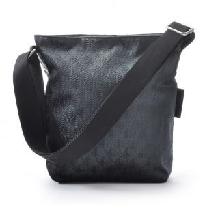 Ceannis Leaf Small Shoulder Bag Olkalaukku Tummanharmaa
