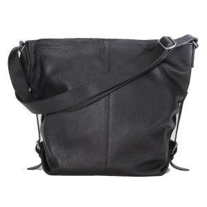Ceannis Shoulder Bag Olkalaukku Nahka / Musta