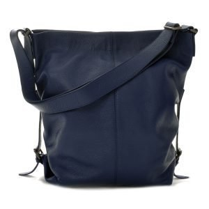 Ceannis Shoulder Bag Olkalaukku Nahka / Tummansininen