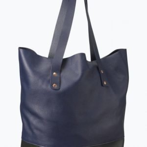 Close By Denim The Moose Leather Tote Ostoslaukku 962fadad3d