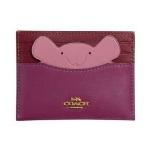 Coach Card Case With Mouse Korttikotelo