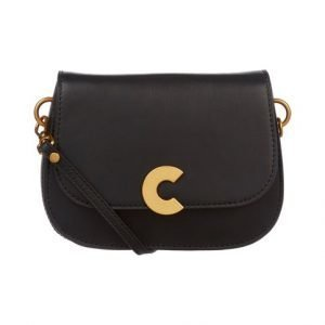 Coccinelle Craquante Smooth Small Flap Crossbody Nahkalaukku