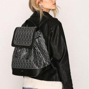 Dagmar Backpack Reppu Musta