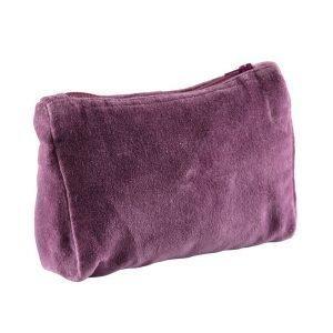 Day Home Nuovo Velvet Vanity Bag Meikkilaukku Pure Purple