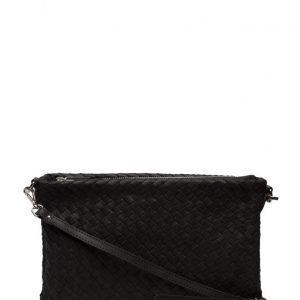 Decadent Woven Small Flat Cross Body pikkulaukku