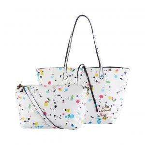 Desigual Capri New Splatter Reversible Shopper Laukku