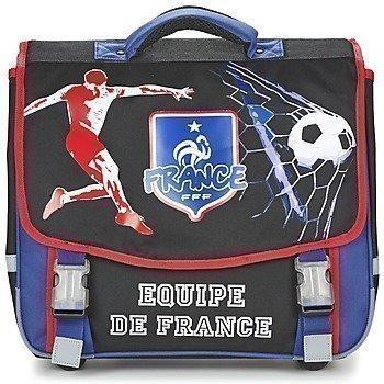 Dessins Animés FOOTBALL EQUIPE DE FRANCE CARTABLE TROLLEY 41CM pyörillä kulkeva koululaukku