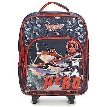 Disney PLANES SAC A DOS TROLLEY pyörillä kulkeva koululaukku