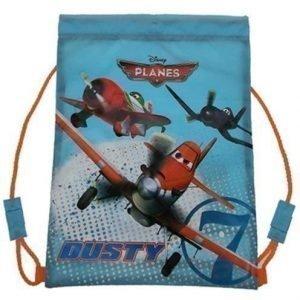 Disney Planes jumppapussi. gymnastikpåse blå