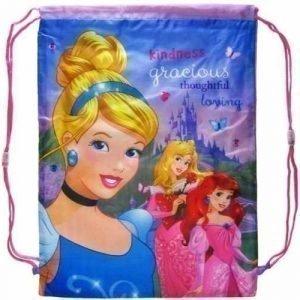 Disney Princess jumppapussi Gymnastikpåse