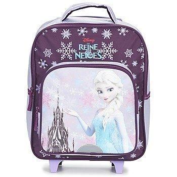 Disney REINE DES NEIGES SAC A DOS TROLLEY 35CM pyörillä kulkeva koululaukku
